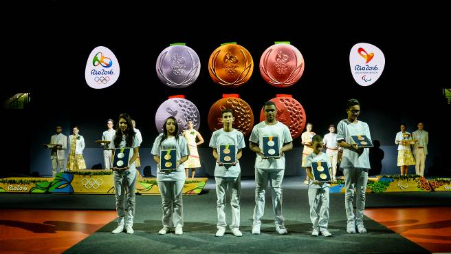 The first medals for the Rio 2016 Games will be presented on Saturday 6 August, a day after the opening ceremony.