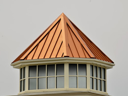 Copper Metal Roof