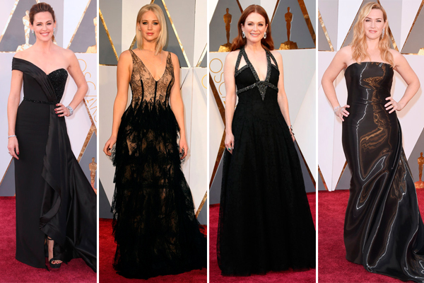 Oscars 2016 black dresses