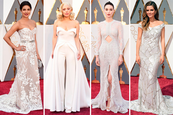 Oscars 2016 pure white