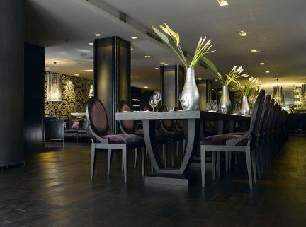 Baraka Restaurant in Luxurious Andrassy Boutique Hotel Budapest Hungary
