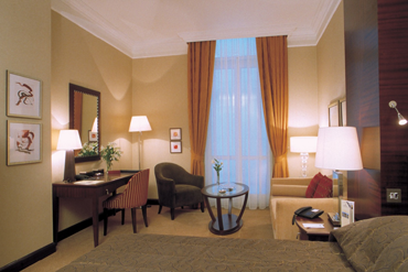 Executive Room in Corinthia Grand Hotel Royal Budapest Hungary