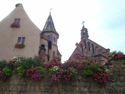 Le chateau d'Eguisheim