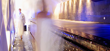 Ice themed Spa Baths in New York Palace Boscolo Hotel Budapest Hungary