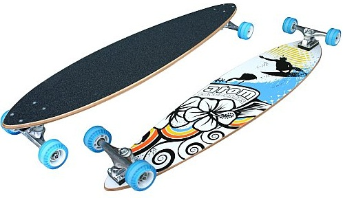 the best longboard: Atom Pintail Longboard