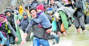 Her 113 kişinden biri mülteci