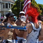 Tens of thousands turned out to party on the streets during the 102nd running of the Bay to Breakers footrace in San Francisco May 19, 2013. (CALIFORNIA BEAT PHOTO)