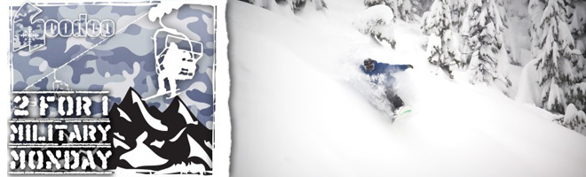 Hoodoo Military Discount Ski Tickets