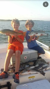 tejas guide service josh garcia reds and kids