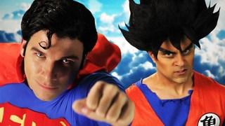 Goku vs Superman.