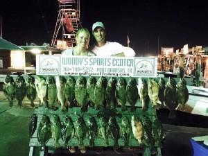 tray clark flounder gigging july 19
