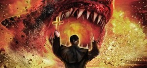 Shark Exorcist! No, really. Check out the poster