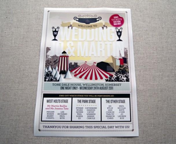 circus-poster-program-wedding