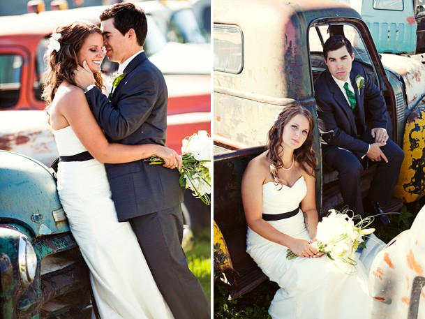 Luxurious Mexico Inspired Style Shoot - 11 green black white wedding