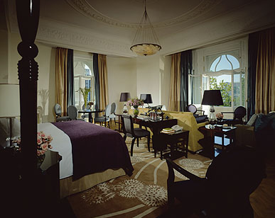Park Suite at Four Season Hotel Gresham Palace Budapest Hungary