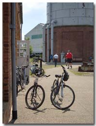 Bikes at the Pump House
