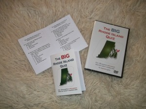 Big RI Quiz booklet & DVD 3