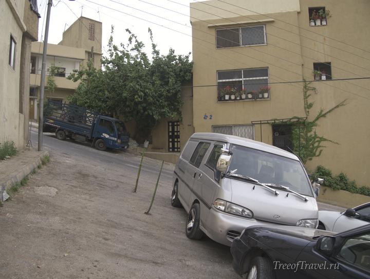 Дороги в Аммане