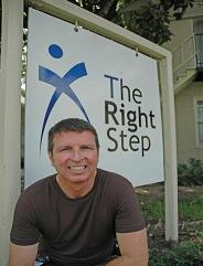 Right Step founder George Joseph is a pioneer in developing affordable, in-netwrok models of addictions care