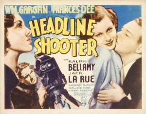 classic movie history project Headline Shooters poster