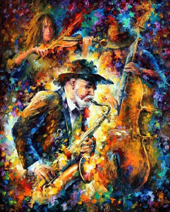 leonid afremov art collections photo gallery
