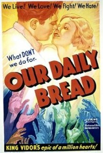 classic movie history project Our Daily Bread poster
