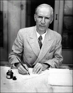 Mild-mannered novelist Upton Sinclair had California Republicans (and FDR as well) in an uproar over his radical production-for-use plan