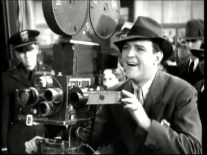 William Gargan on the job in Headline Shooters (1933)