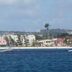 Barbados from the water