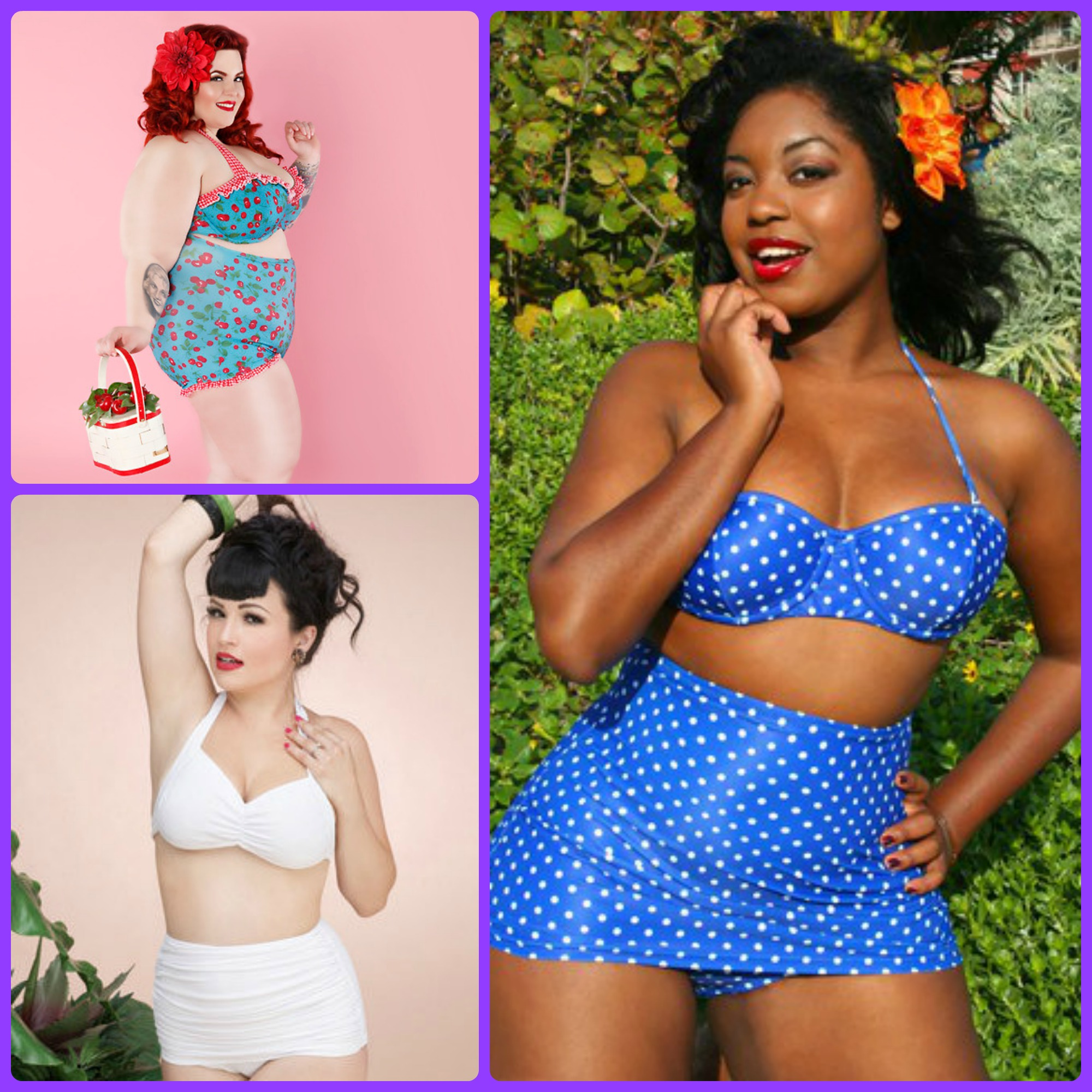 Rockabilly plus size clothing