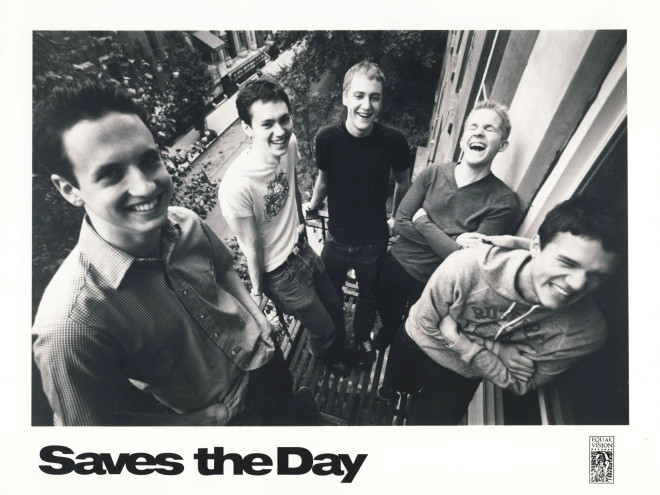 Saves the Day (From left): Ted Alexander, David Soloway, Eben D'Amico, Chris Conley, Bryan Newman​