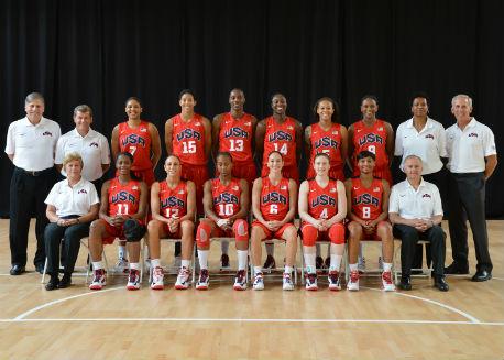 The 2012 USA Women's National Team.
