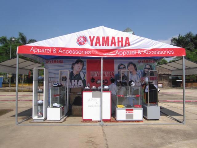 Gian hàng hội chợ Yamaha
