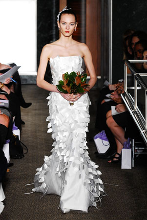 Spring 2010 Bridal Collection Carolina Herrera 2