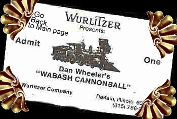 Wurlitzer presents Dan Wheeler's Walbash Cannonball Concert tickets