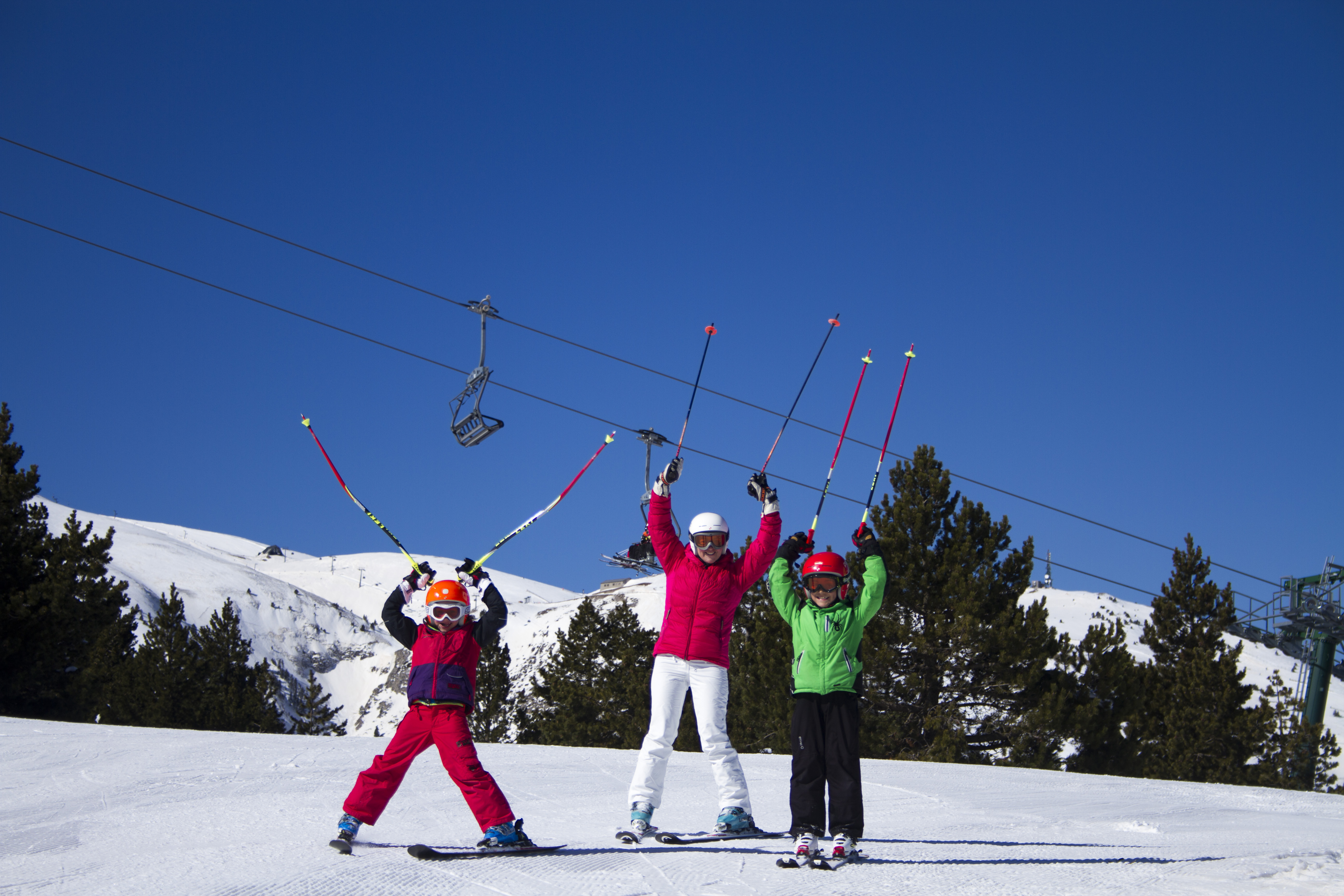 Ski en famille à La Molina ©La Molina