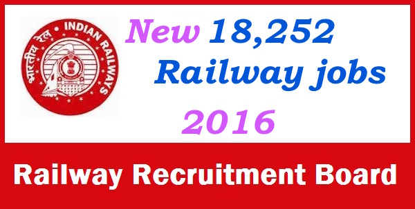 RRB Non Technical Job Recruitment 2016 Railway 18252 NTPC Good Guards ASM CA TA Apply Online indianrailways.gov.in