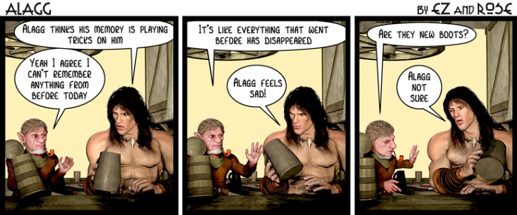 """Interview with Antony Esmond and Paul Rose, creators of """"Alagg the Barbarian"""""""