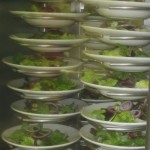 Plates in the galley