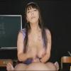 【男の潮吹き無料動画】美熟女村上涼子の淫語両手コキで射精後も責められる!