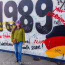 We visited the Berlin Wall to view the amazing art at the East Side Gallery