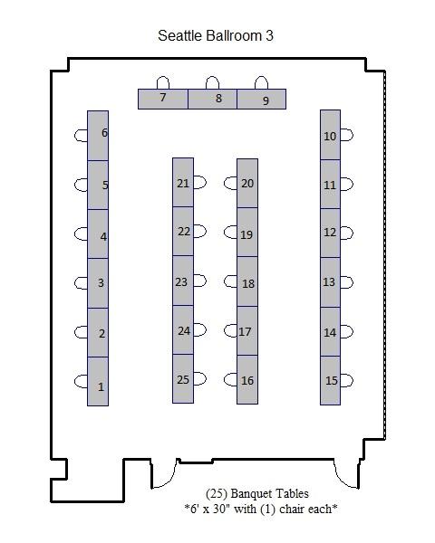 Seattle Exhibit layout
