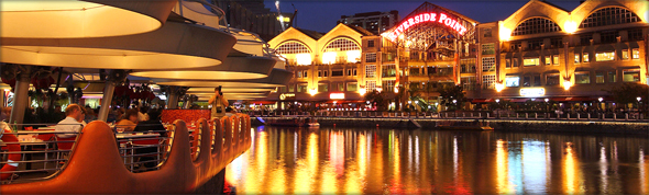At night, the place truly comes to life. Photo credit - Yueh-Hua 2009.