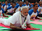 PM Modi leads International Yoga Day celebrations