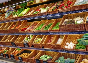 image of the fruit selection at City Farm Shop in Norwich