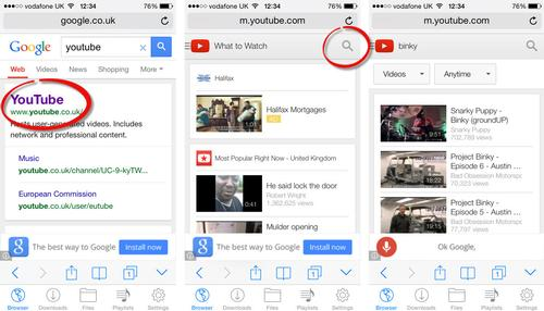 ios youtube download