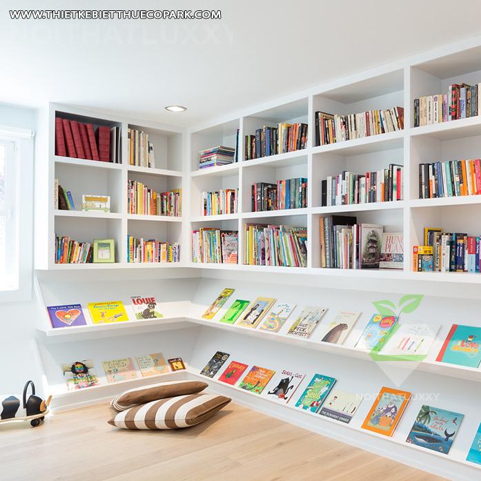 Thiết kế nội thất biệt thự Ecopark đẹp với phòng ngủ trẻ em