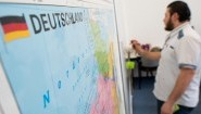 Integrationskurs in Hannover (dpa / picture-alliance / Julian Stratenschulte)