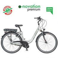 Prophete Navigator 4.0 e-novation premium Damen 28 Alu-City E-Bike - SILBER