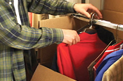 Packing your clothes